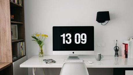 desk space for home working